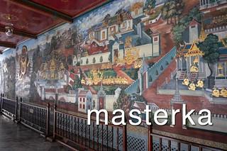 ワットプラケオの壁画