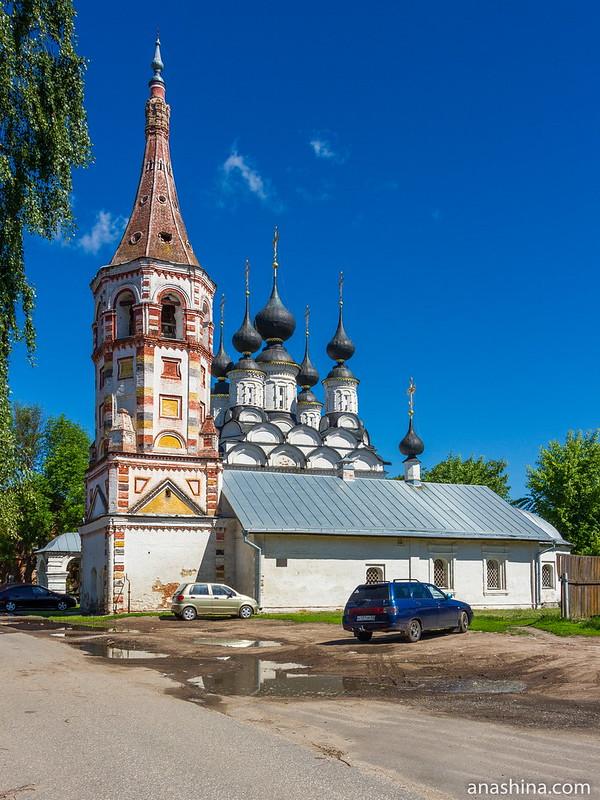 Антипиевская и Лазаревская церкви, Суздаль