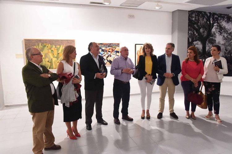 SALA DE EXPOSICIONES CAJASUR INAUGURACIÓN DE LA EXPOSICIÓN DE BERNARDO COLLADO DEAMBULANDO POR LA CREACIÓN 3