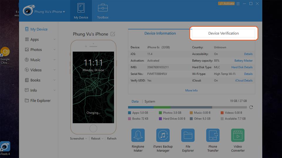 Cách kiểm tra iPhone có bị sửa chữa