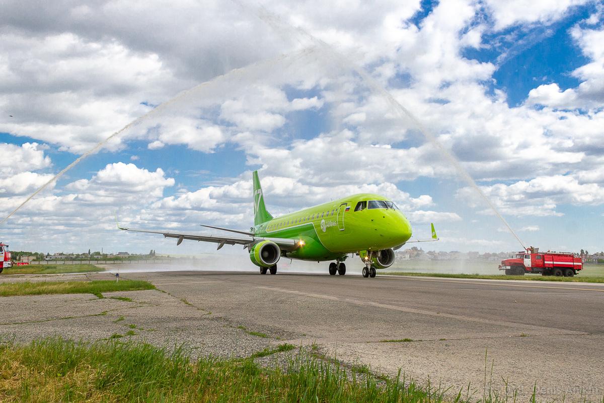 S7 Airlines первый рейс в Саратов фото 3