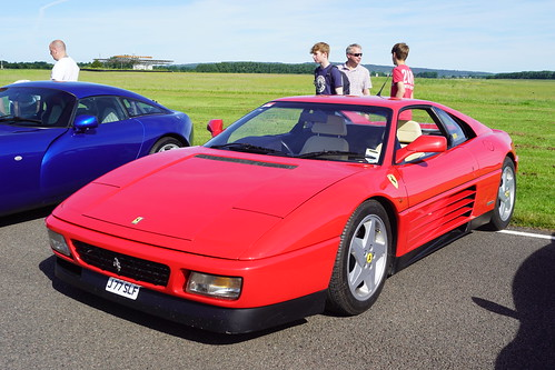 Ferrari 348 Berlinetta 1992, Supercar Sunday, Goodwood Breakfast Club (2)