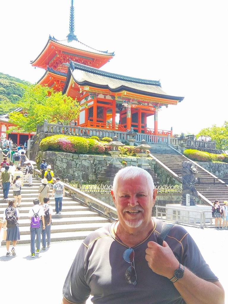 Kiyomizu-dera buddhist temple