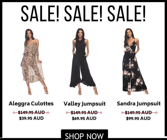 Big Sale oOn Trendy Jumpsuits In Australia