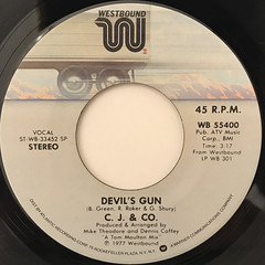 C.J. & CO.:DEVIL'S GUN(LABEL SIDE-A)