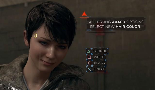 Detroit Become Human - Kara's Hair
