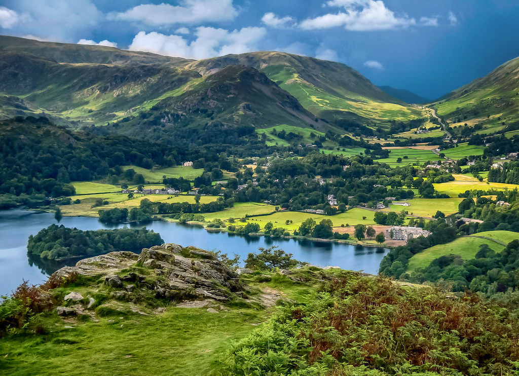 Grasmere, The Lake District. Credit Jorge Franganillo, flickr