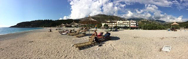 Himare Beach Pano 03