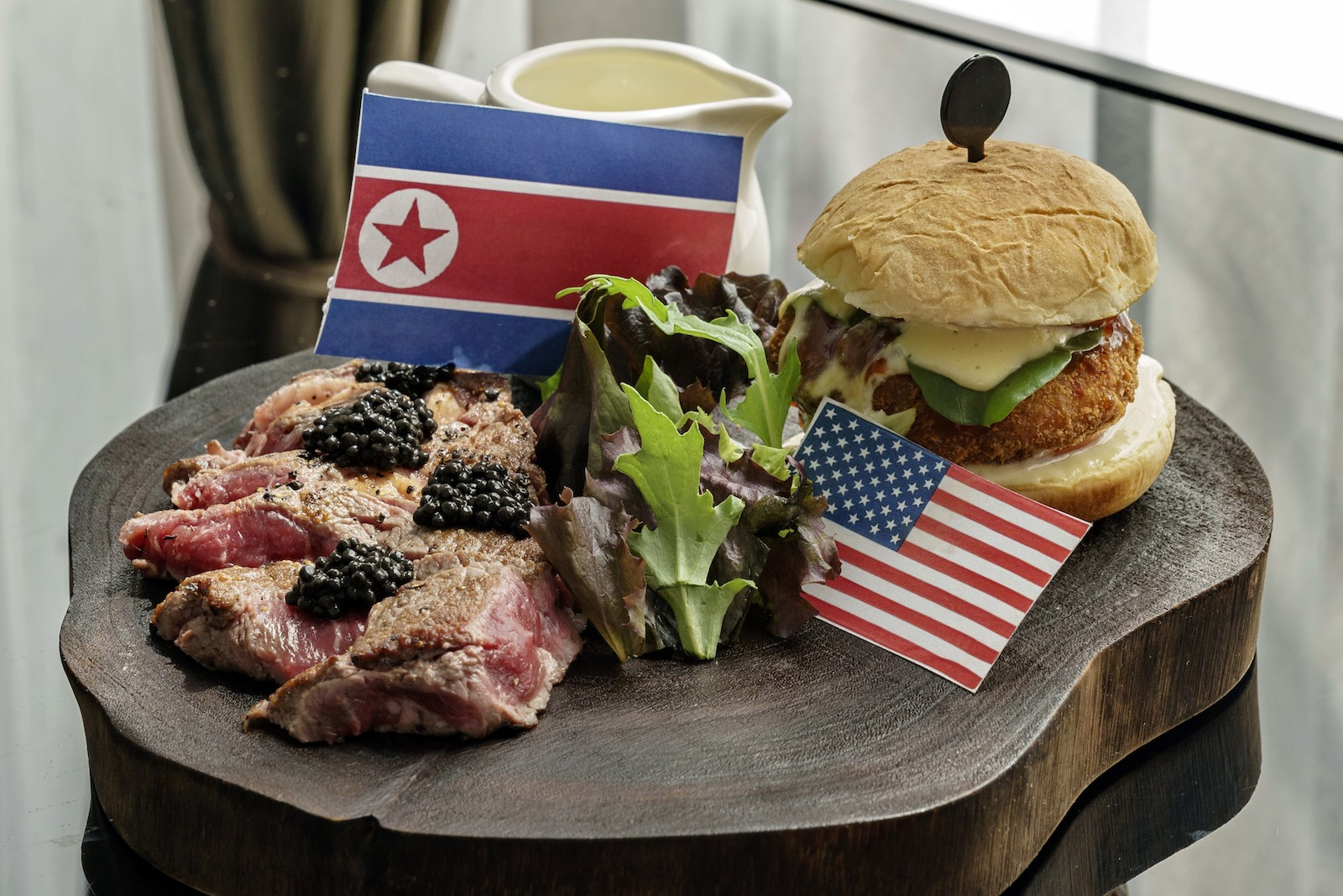 SINGAPORE-US-NKOREA-DIPLOMACY-FOOD