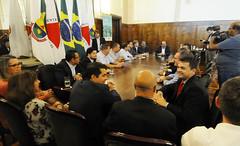Prefeito Alexandre Kalil se reúne com vereadores da base