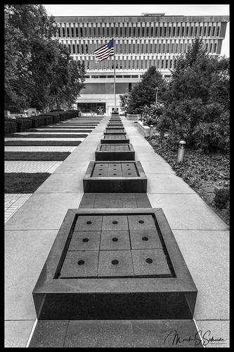 memorialpark stlouiscountymemorialplaza clayton missouri monochrome nikon d850