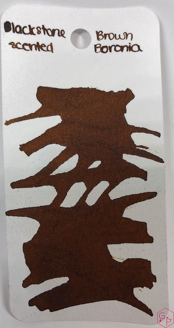 Blackstone Brown Boronia Ink Review @AppelboomLaren 4