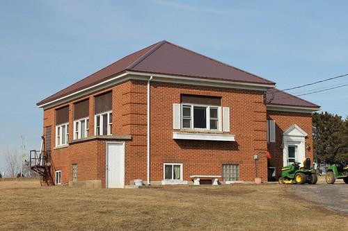 Wardsville School - rural Shullsburg, WI