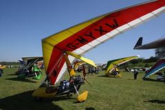 G-MYXW Solar Wings Pegasus [7090] Popham 050518