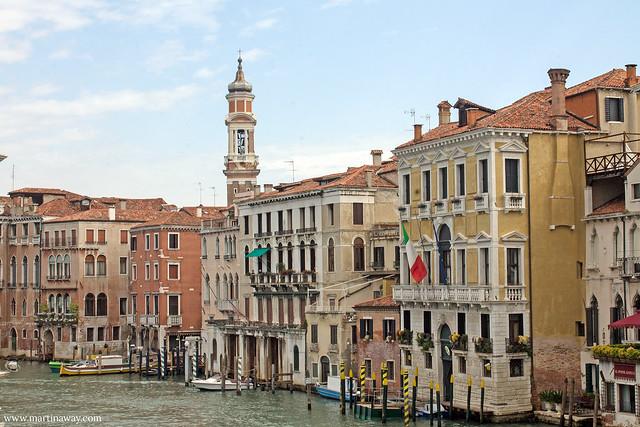 Il sestiere di Cannaregio visto dal Ponte di Rialto: film ambientati a Venezia