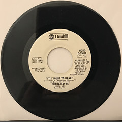FREDA PAYNE:IT'S YOURS TO HAVE(RECORD SIDE-B)