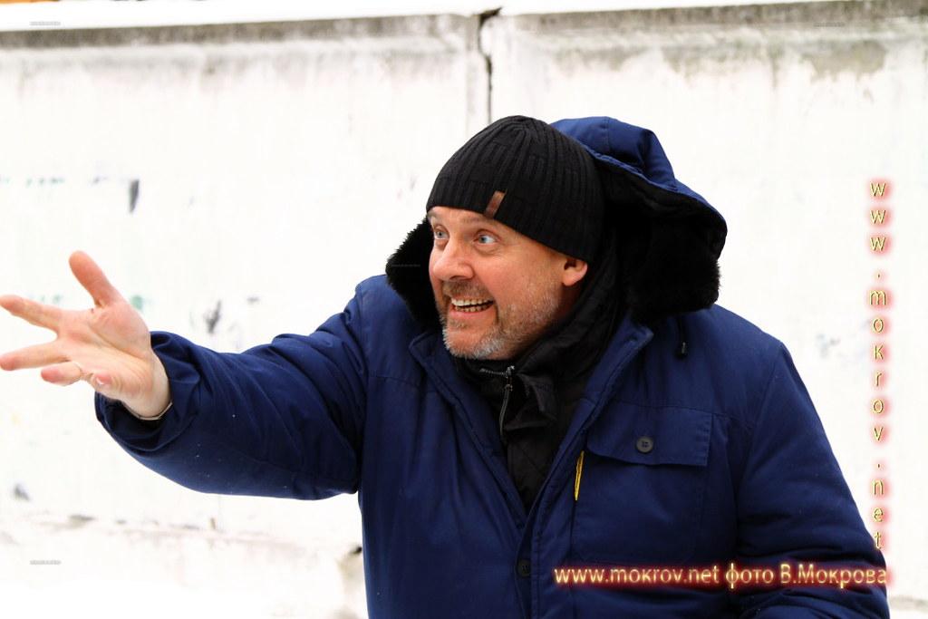 Фотографии режиссера - актера - Ивана Щёголева, за работой сериал Карпов сезон 3