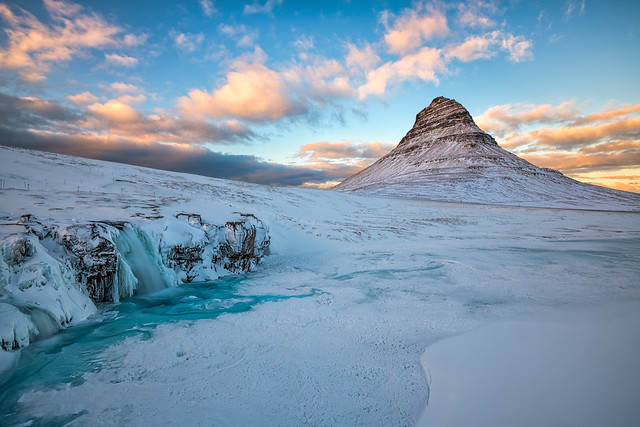 Winter Magic at Kirkjufell