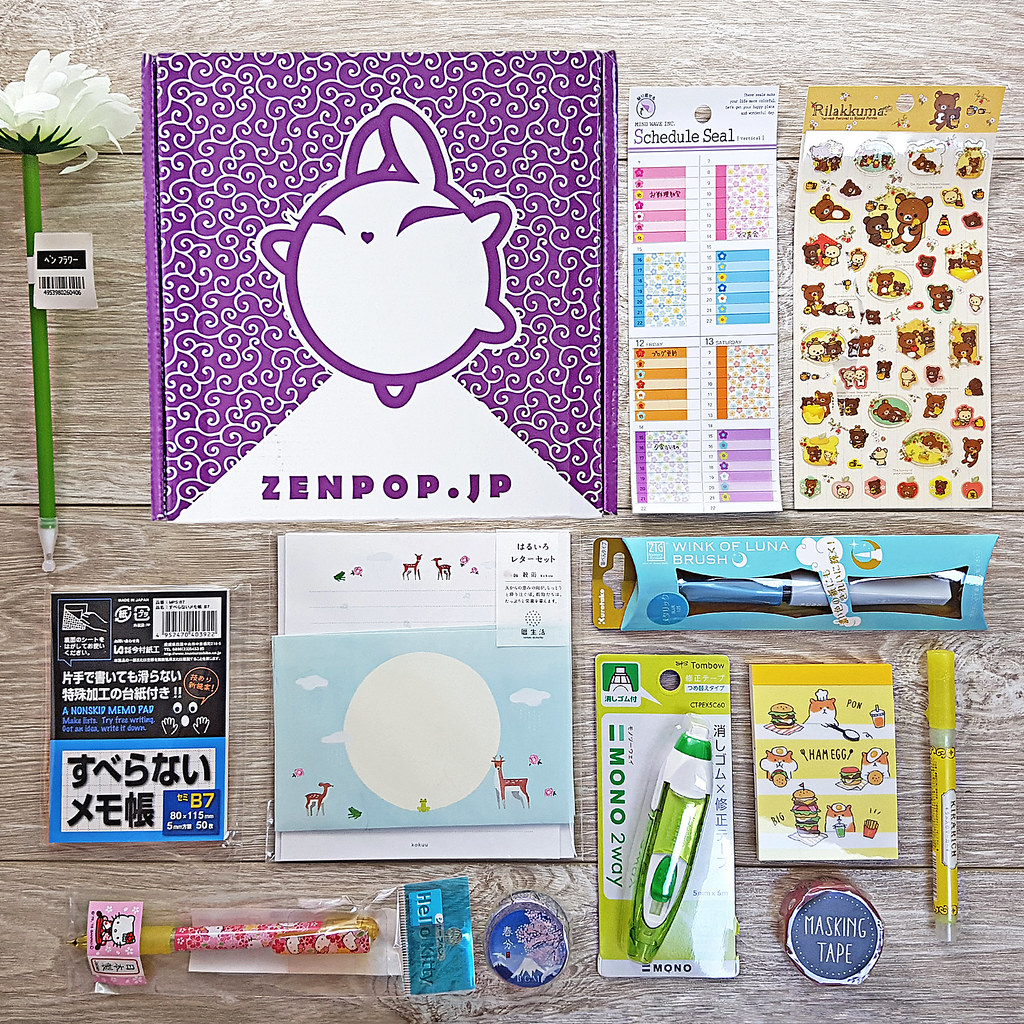 Zenpop Stationary Hana Ga Saku Pack
