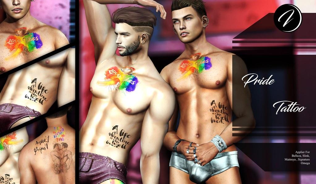 ..:: INKer ::.. Pride Tattoo - TeleportHub.com Live!