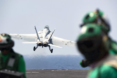 USS Harry S. Truman conducts flight operations.