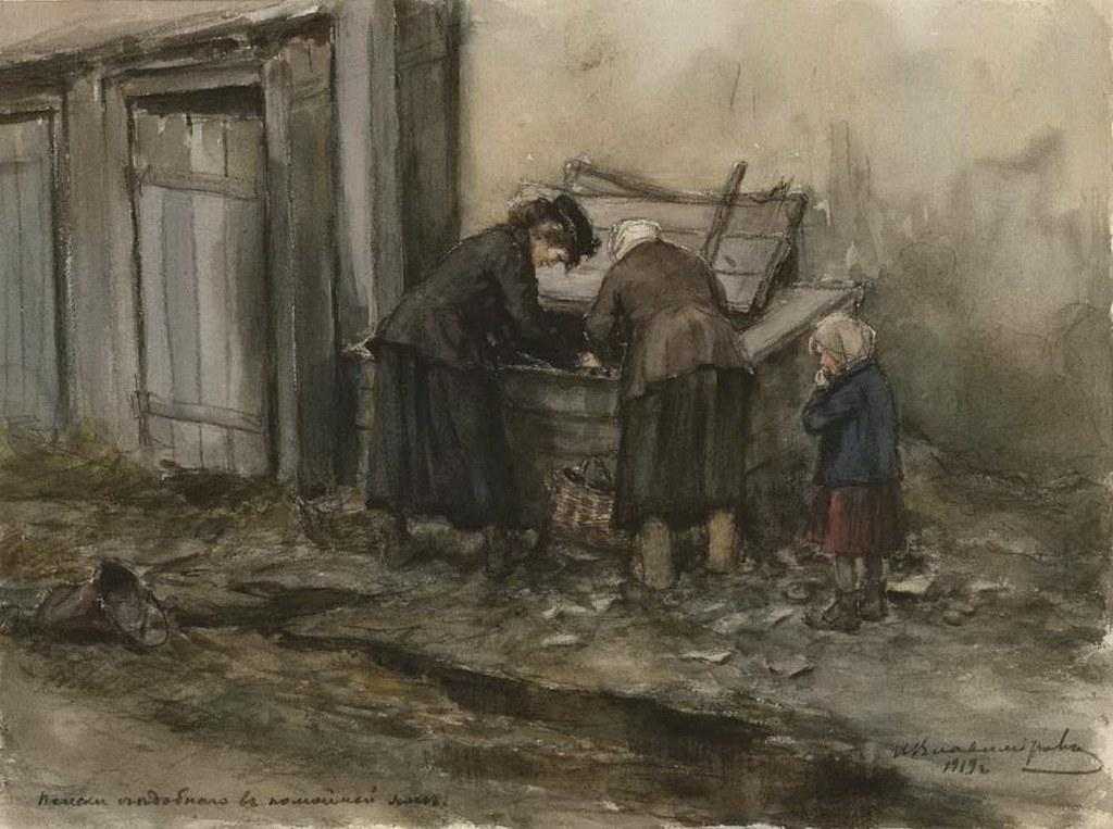 俄国内战与革命的写实绘画20