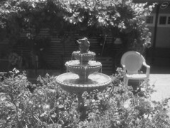 A fountain near a senior home 1