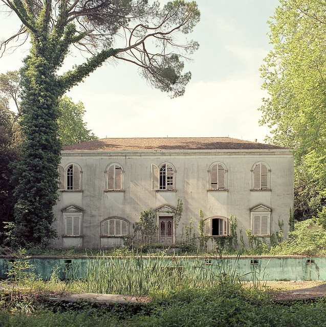 Villa dei Levrieri - Back view