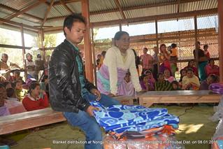 Thoubal Winter Relief 08 Jan 2016