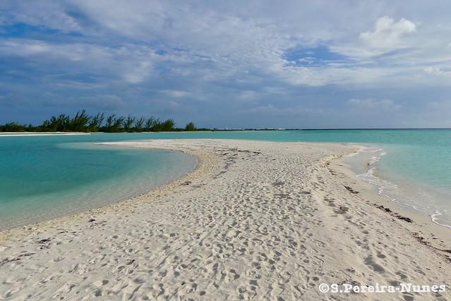 Sand Banks, Flamenco Beach, Cayo Coco, Cuba