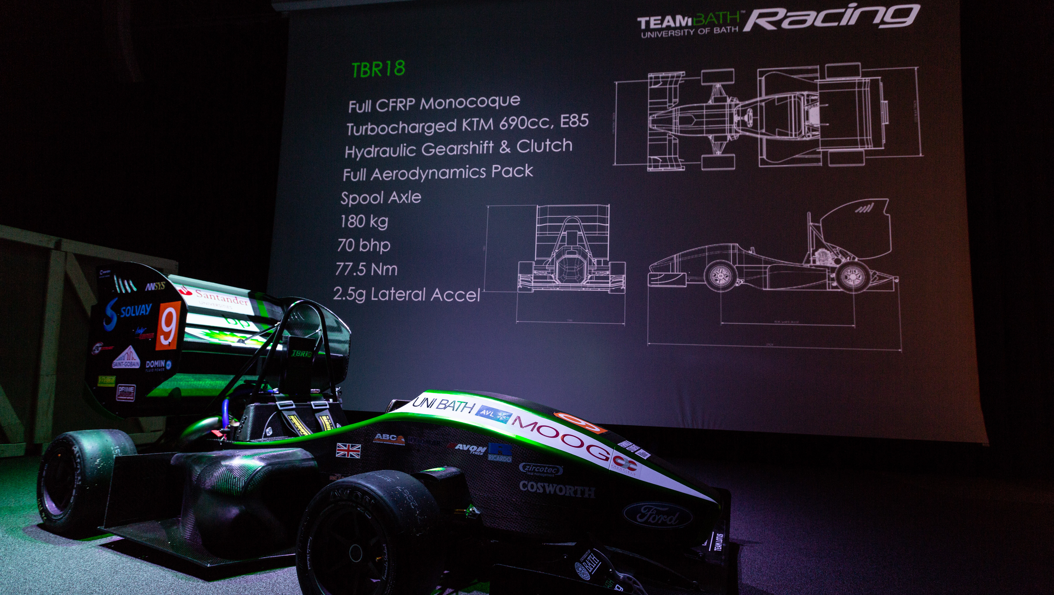 The University of Bath's Formula Student combustion racing car team, TBR, has sets its sights on winning this year's Formula Student UK event at Silverstone in July.