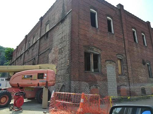 HT Hackny Warehouse Demolition - Harlan,  KY