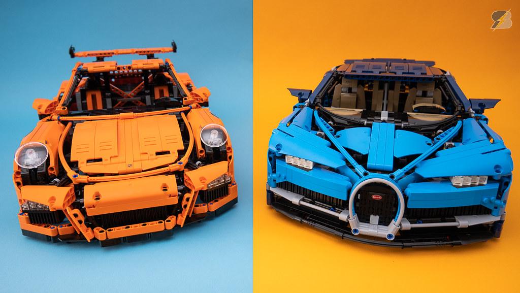 Orange vs Blue