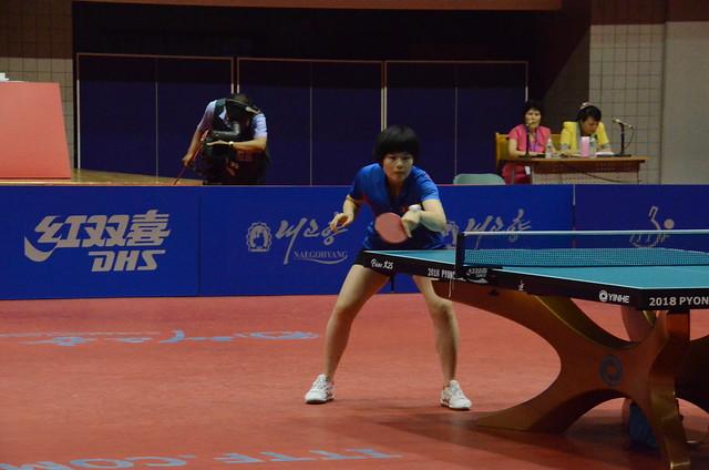 Day 3 - 2018 ITTF Challenge Pyongyang Open