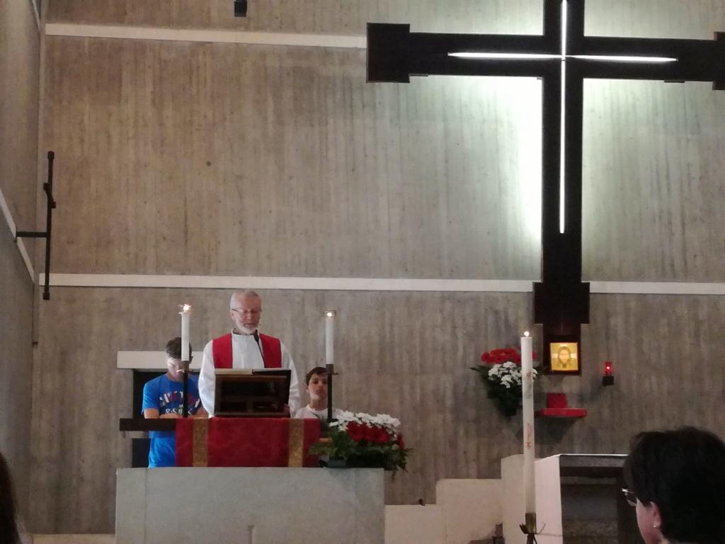 La Parrocchia di Sant'Enrico in San Donato saluta don Luca Giudici