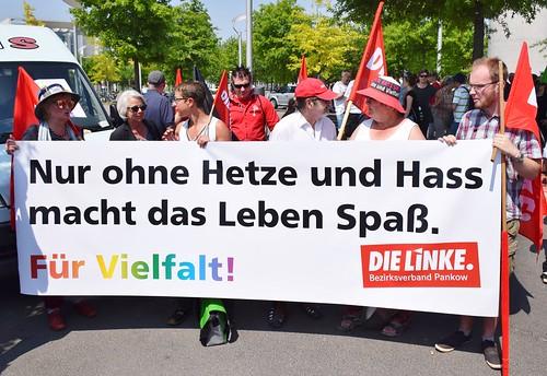 27.05.18: Protest gegen AfD-Aufmarsch in Berlin