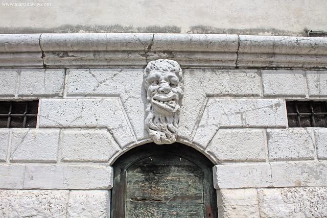 Testa sul campanile di Santa Maria Formosa