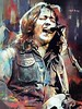 Rory Gallagher - Mixed Media Art Print , 2018