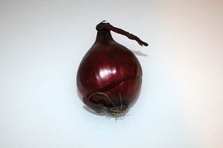 02 - Zutat rote Zwiebel / Ingredient red onion