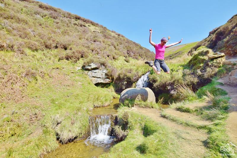 Peak District - Edale via Kinder Downfall hike (45)