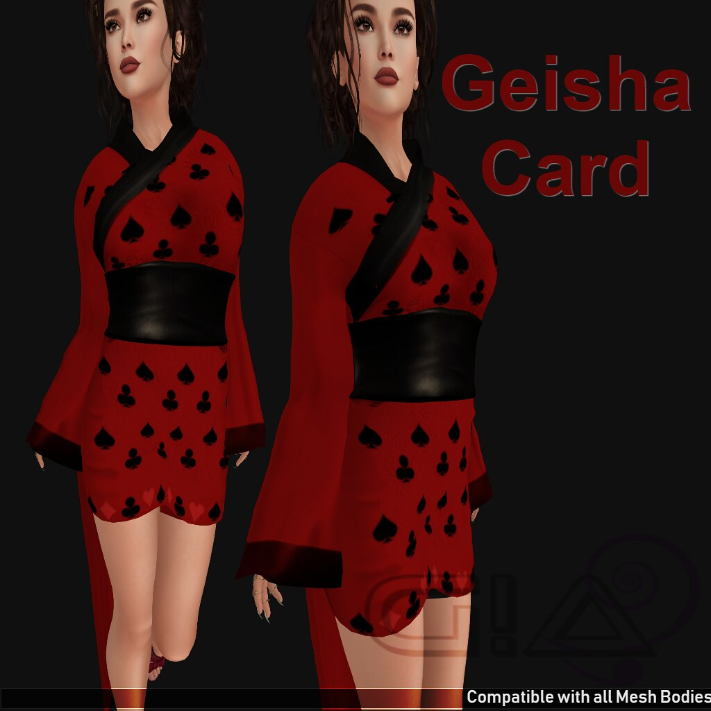 Geisha Card Vendor