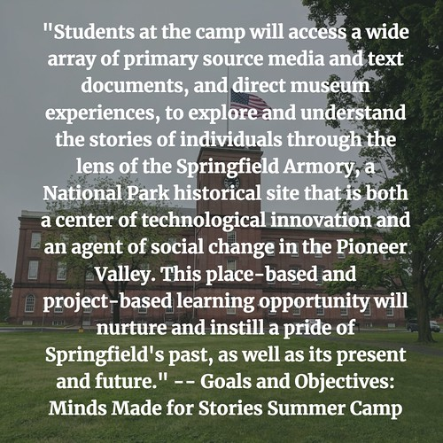 Minds Made for Stories Summer Camp Mission Statement