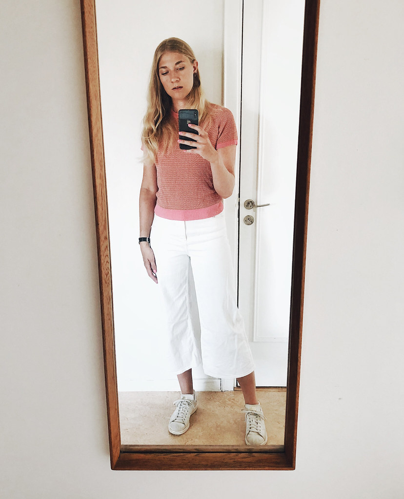 vitt och rosa