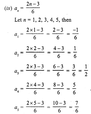 RD Sharma Class 10 Solutions Arithmetic Progressions Exercise 9.1