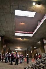 Visita con las OFIS al proyecto Línea 2