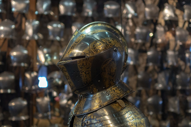 Gilt Armour of Charles I, made for Henry Prince of Wales
