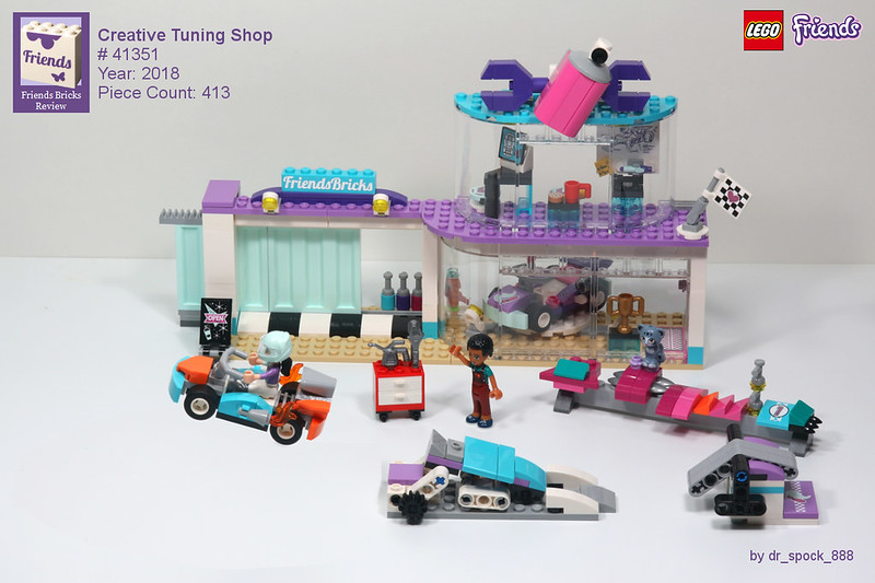 Heartlake Times Review 41351 Creative Tuning Shop
