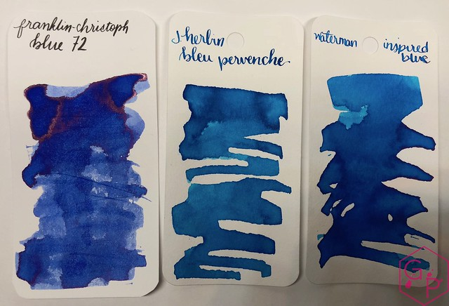Franklin-Christoph Blue 72 Ink Review @1901FC 5