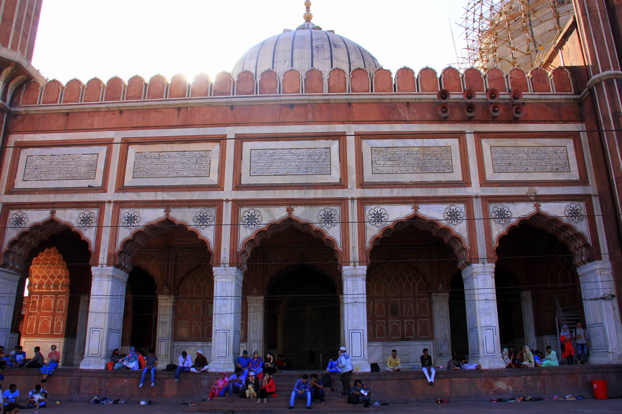 Jama Masjid is a must visit attraction in Delhi