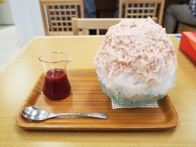 Japanese Ice Shaved Dessert - Strawberry Milk